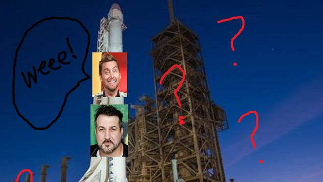 Who are the mystery passengers paying for a trip  on a Falcon Heavy around the moon?! The mystery remains unsolved! Could it be Lance Bass and Joey Fatone? PLEASE PLEASE PLEASE.