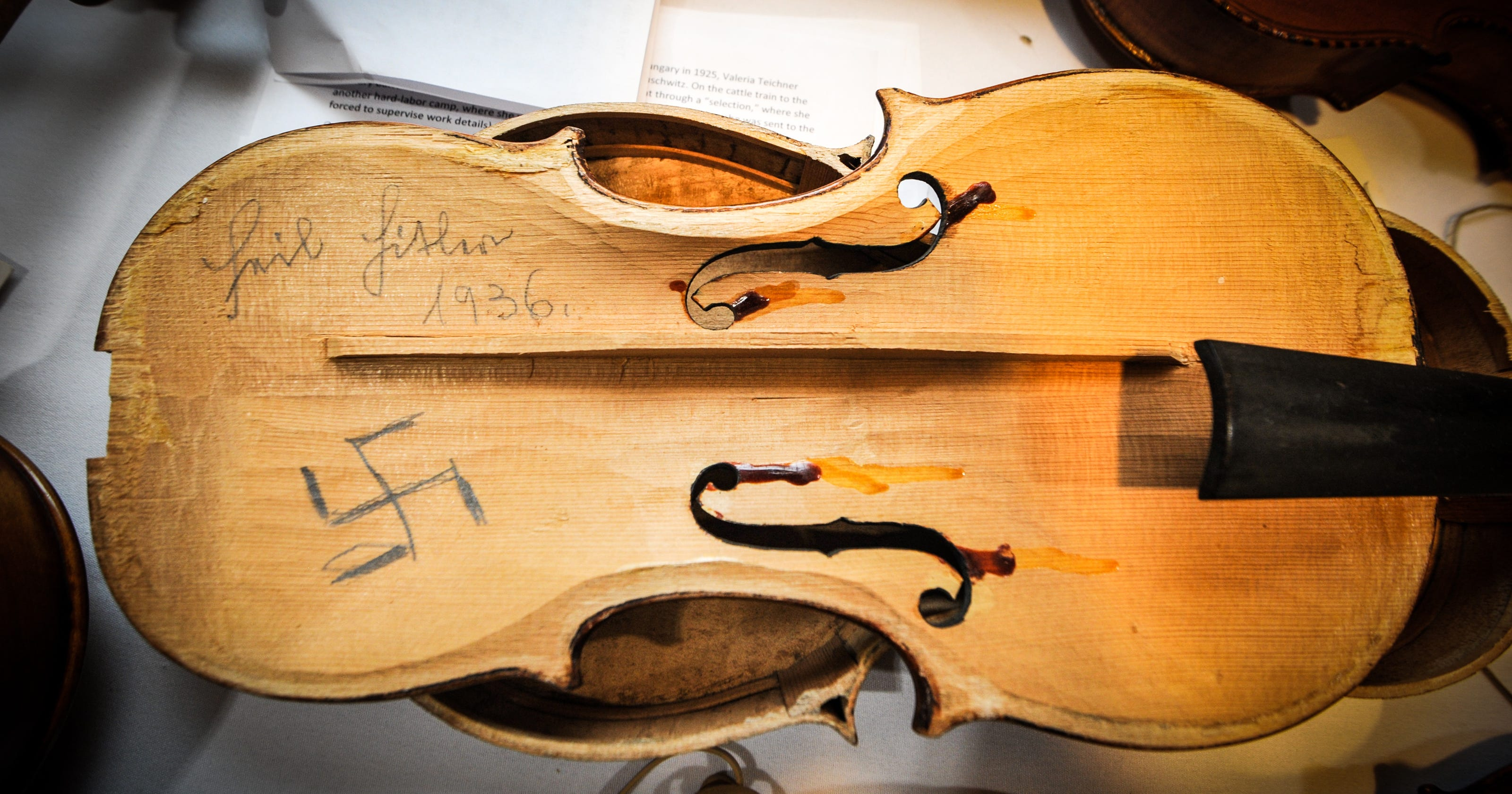 Violins of Hope: Strings of the Holocaust restored by master