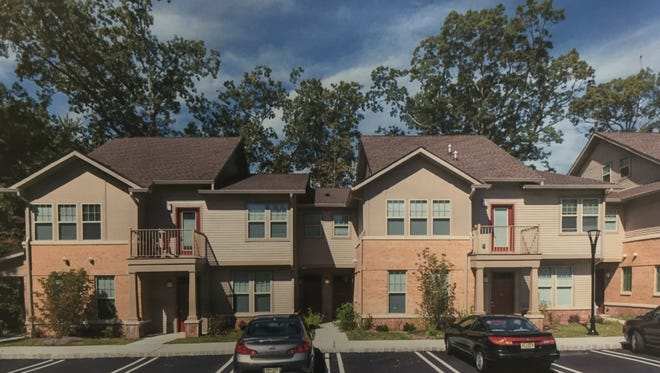 Developer's rendering of a unit similar to the proposed affordable housing units in Wall.