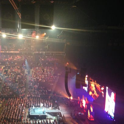More than 13,000 Baptists gathered Monday in Nashville