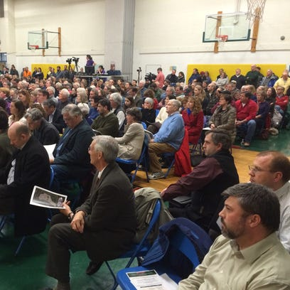 More than 300 people gather at the Shelburne Community