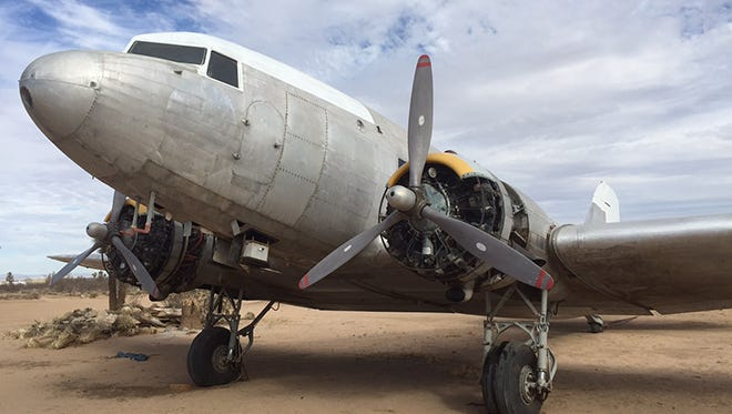 A Douglas DC-3 aircraft tied to the history of North Central Airlines has been purchased by the Aviation Heritage Center and will be returning to Wisconsin for permanent display. The aircraft, pictured, is currently undergoing maintenance in California before being repainted and flown to Sheboygan County.