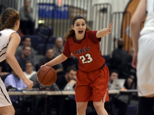 Saddle River Day sophomore guard Michelle Sidor, who had a historic freshman season, has taken on a crucial leadership role for the Rebels.