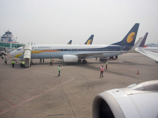 Jet Airways, once India's largest airline, announced on Wednesday that it is suspending all operations after failing to raise enough money to run its services.