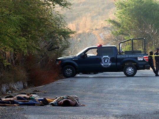La violencia no cesa en México.