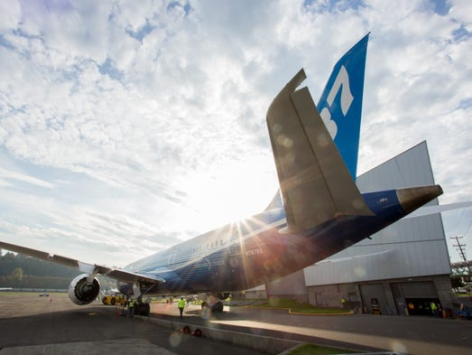 The third Boeing 787 ever built, now living at the