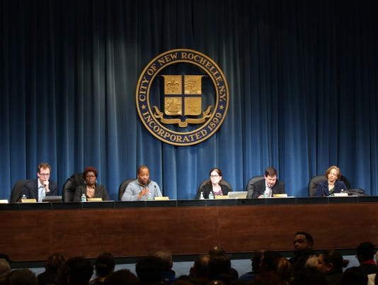 New Rochelle School Board Meeting
