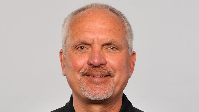 New Titans wide receivers coach Bob Bratkowski.