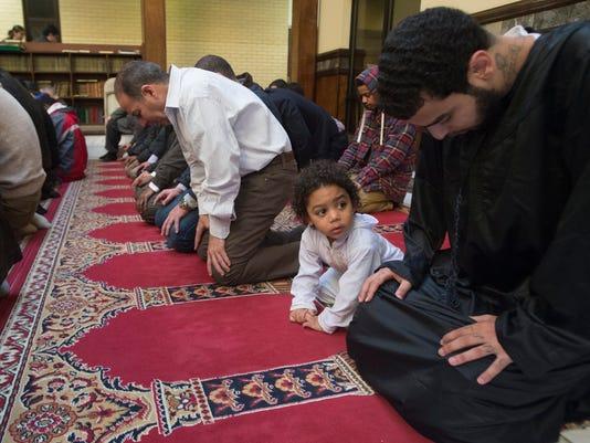 EPA USA MUSLIMS FRIDAY PRAYER REL BELIEF (FAITH) USA VA