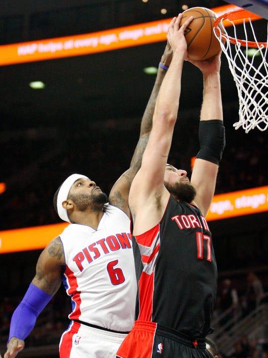 NBA: Toronto Raptors at Detroit Pistons
