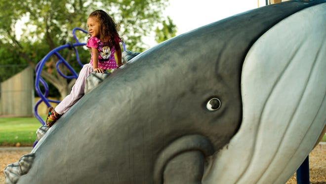 The Wally Whale play structure will come to Ocean City for the 2016 season.