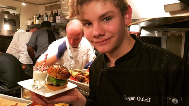 Logan Guleff at the James Beard House
