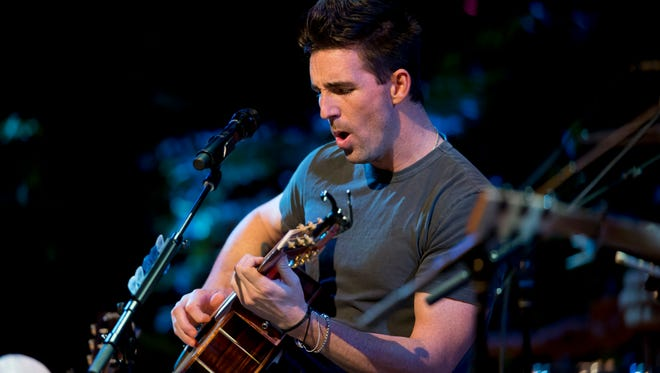 Jake Owen's hit song Beachin' was one of many performed during the county musicians  acoustic performance at Riverside Theatre on Dec. 11, 2015, in Vero Beach.