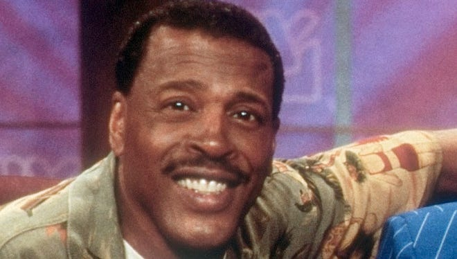 "Actor Meshach Taylor on the set of ""To Tell the Truth"" in 2000."