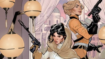 "Princess Leia partners with an X-Wing Fighter pilot named Evaan in her new ""Star Wars"" comic."