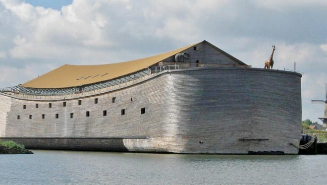 A massive replica of Noah's ark could set sail for Brazil this year.   The ark, which was created by Dutch carpenter Johan Huibers, will stop at several port cities in Brazil and make four stops along the coast of the U.S., according to the Ark of Noah Foundation, which is working to raise funds for the ark's journey.