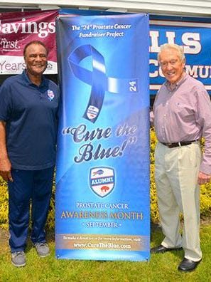 Booker Edgerson and Marv Levy are both prostate cancer survivors.