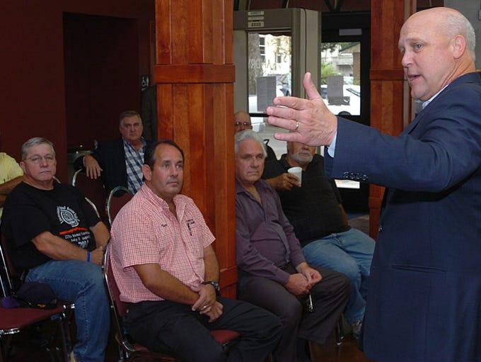 Mayor Mitch Landrieu in Opelousas