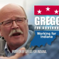 Democratic candidate for governor John Gregg unveiled his first commercial of the 2016 campaign on Wednesday.