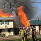 Two-alarm fire engulfs Swoope home