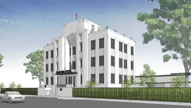 Visalia planning commissioners unanimouslyapproved a conditional use permit to remodel the old county courthouse.