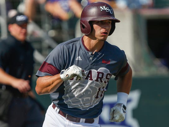 Expectations are high for MSU's Jeremy Eierman, who's been touted as a potential Top 5 pick in the upcoming MLB Draft.