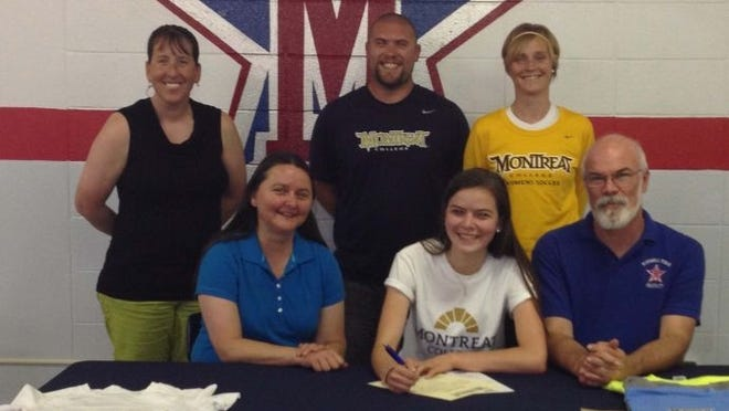 McDowell senior Katelyn Rideout has signed to play college soccer for Montreat.