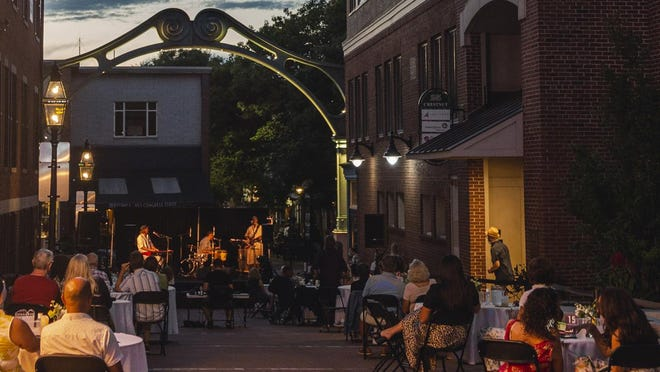 The Music Hall and other Seacoast performance venues have been able to present outdoor shows this summer, but only at a fraction of their regular ticket sales. The local venues will be lit up in red on Sept. 1 to bring awareness to the financial plight of local organizations.