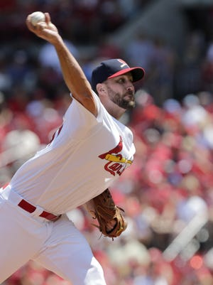 St. Louis Cardinals starting pitcher Adam Wainwright allowed six runs on 9 hits in six innings Sunday.