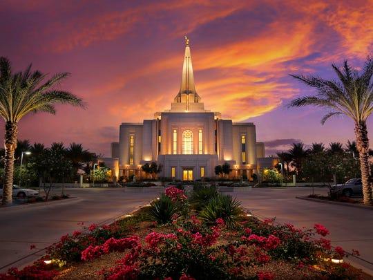 The Gilbert Arizona Temple of The Church of Jesus Christ