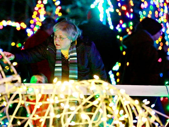 Christmas Magic at Rocky Ridge County Park in Springettsbury