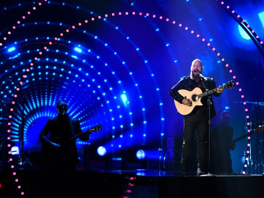 Zac Brown of the Zac Brown Band performs a tribute to Little Jimmy Dickens at the 49th annual CMA Awards at the Bridgestone Arena on Nov. 4, 2015, in Nashville, Tenn.