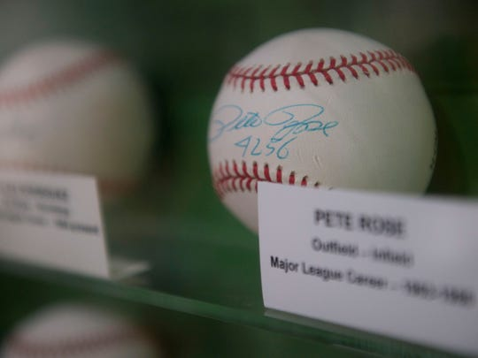 Beyond the 600 vintage baseball cards, The Baseball Gallery at The Elliott Museum is also home to autographed balls and game used bats and jerseys, with some memorabilia dating back to 1887.
