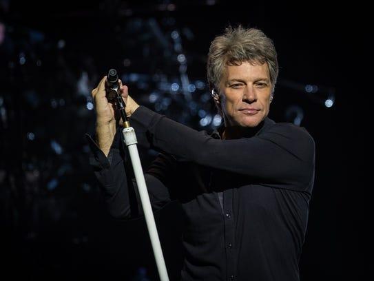 Jon Bon Jovi will perform with rock band Bon Jovi March