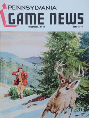 (Pennsylvania Game News illustration from 1957 courtesy of Pa. Game Commission)
