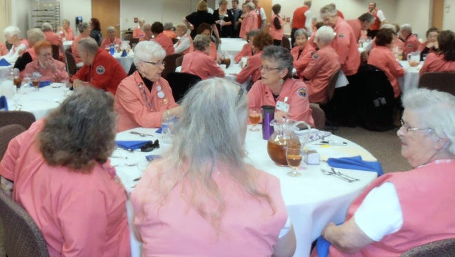 Gerald Champion Regional Medical Center Auxiliary Fink Follies will feature their annual scholarship fundraiser at the Flickenger Center at 7 p.m. Saturday.