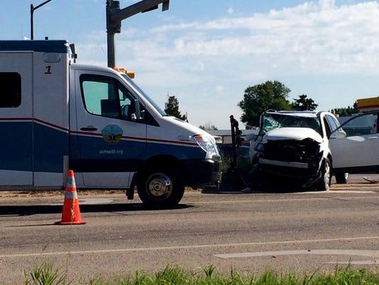 Crash near Fort Collins Wednesday