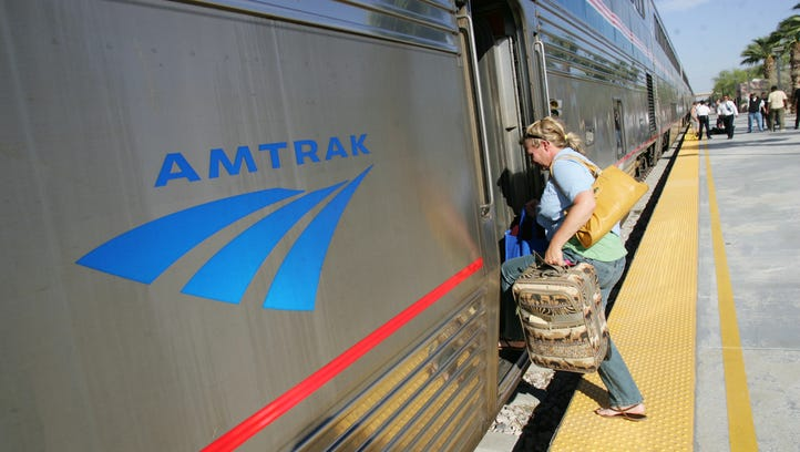 Amtrak has temporarily moved up its Sunset Limited departure from Union Station by six hours, putting passengers in Palm Springs at 6:30 p.m.