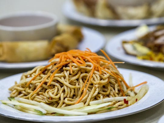 Sesame Cool Noodles will be one of the several Chinese food dishes available at the Chinese Festival at the Chinese-American Community Center in Hockessin.