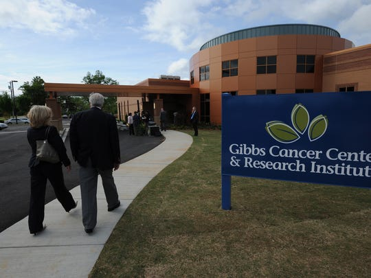 The Gibbs Cancer Center and Research Institute Pelham campus.