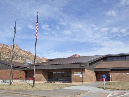 Darin Thomas leads Water Canyon School, located in Hildale, into phases of growth as it becomes part of Washington County School District. Thursday, Feb. 19, 2015.