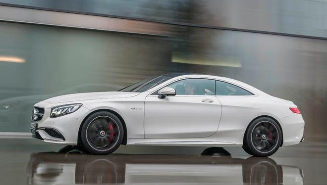 2015 Mercedes-Benz S63 AMG 4MATIC Coupe.