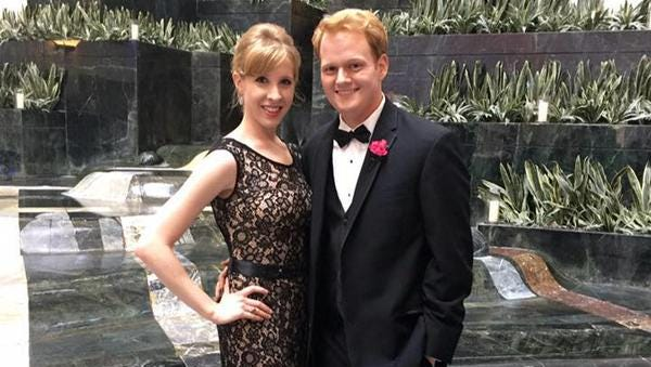 TV journalist Alison Parker's boyfriend was news anchor Chris Hurst. He posted this on Twitter after her death.