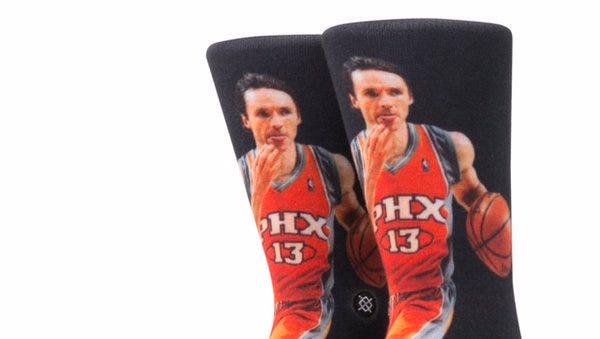 Suns will wear Steve Nash socks Friday night.