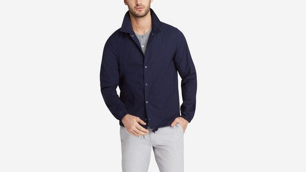 Bonobos carries a wide selection of hip clothing for men, including this Coach's Jacket, $198 at bonobos.com