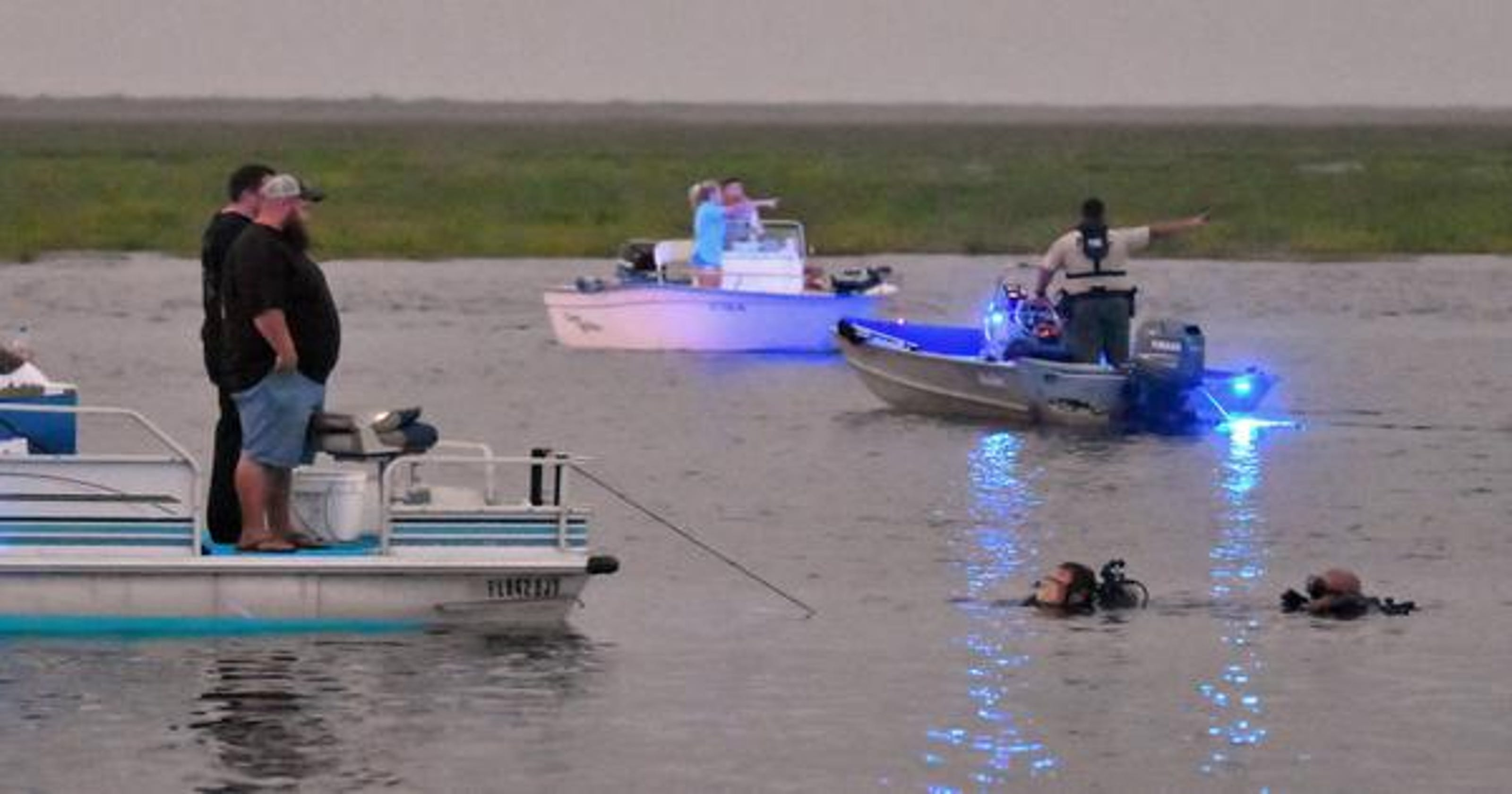 Search went for hours Sunday after Brevard airboat crash