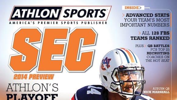 Auburn Athlon issue 2014