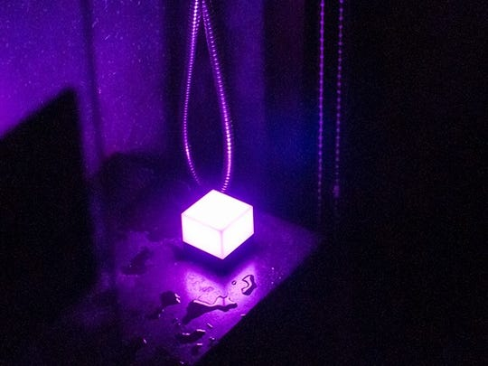 The Cube is a portable light that's battery powered.