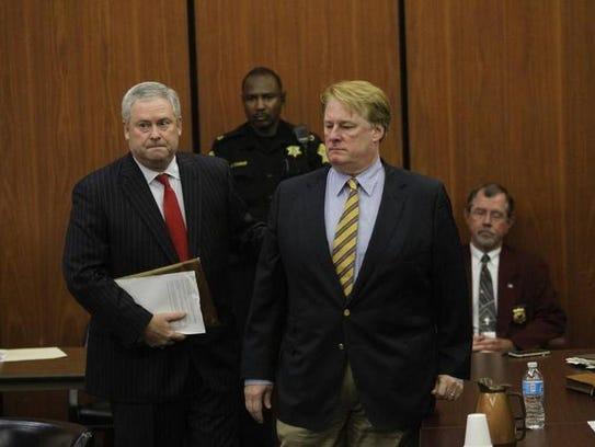 Rick Quinn goes before Judge Knox McMahon for his bond