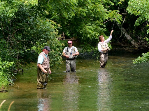 New fundraising event to kick off on the south river for Healing waters fly fishing
